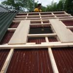 屋根上補強