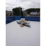 屋根上はチムニーカバー