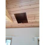 天井の開口画像です。